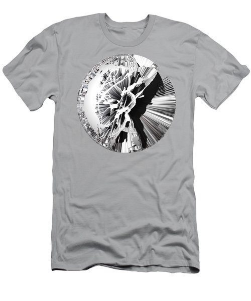 Angst IIi Painting As A Spherical Depth Map. 1 Men's T-Shirt (Slim Fit) by Paul Davenport