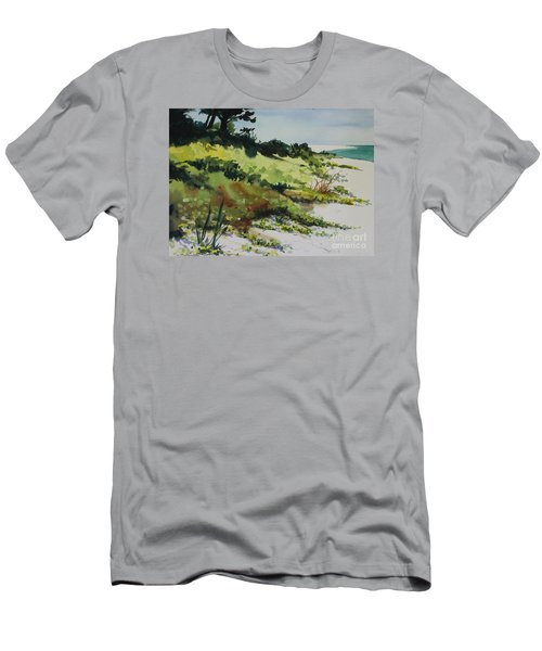 Anna Marie Island Men's T-Shirt (Slim Fit) by Elizabeth Carr