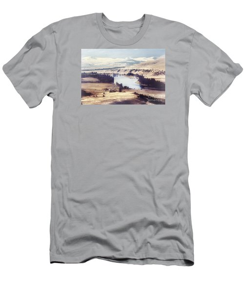 Another Flathead River Image Men's T-Shirt (Slim Fit) by Janie Johnson