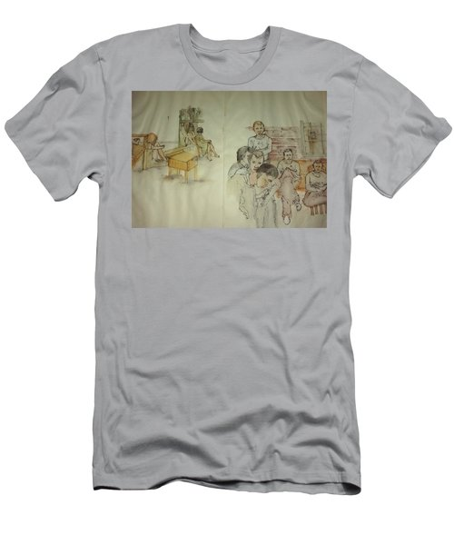 Another Look At Mental Illness Album Men's T-Shirt (Slim Fit) by Debbi Saccomanno Chan