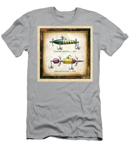 Antique Lure Panel One Men's T-Shirt (Athletic Fit)