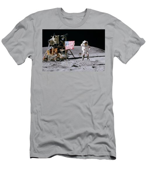 Apollo 16 Men's T-Shirt (Athletic Fit)