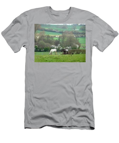 Appaloosa In May Men's T-Shirt (Athletic Fit)
