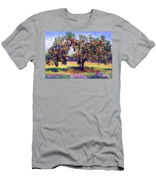 Apple Tree Orchard Men's T-Shirt (Athletic Fit)