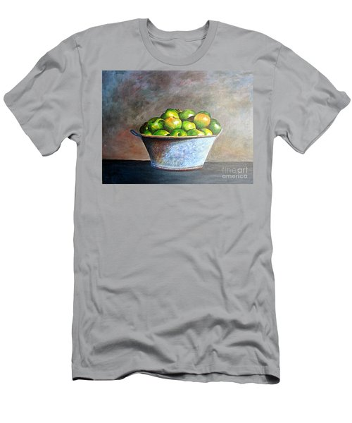 Apples In A Rusty Bucket Men's T-Shirt (Athletic Fit)
