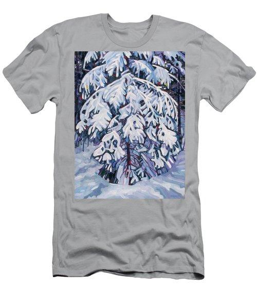 April Snow Men's T-Shirt (Athletic Fit)