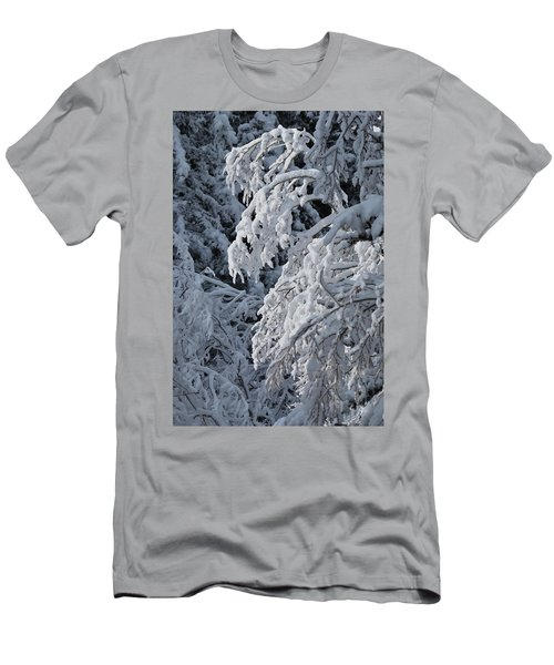 April Snow Men's T-Shirt (Athletic Fit)