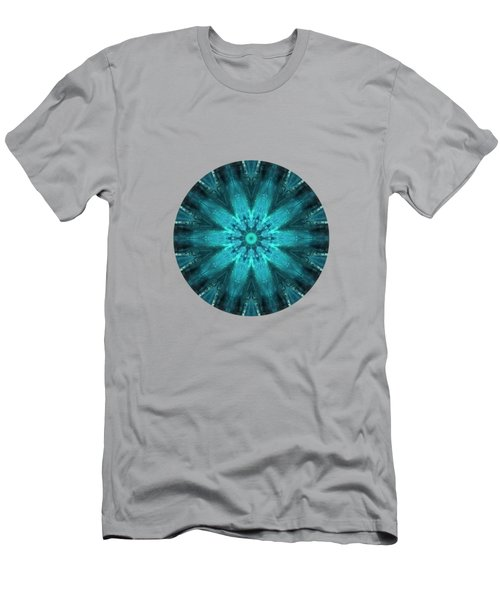 Aquamarine  Men's T-Shirt (Athletic Fit)