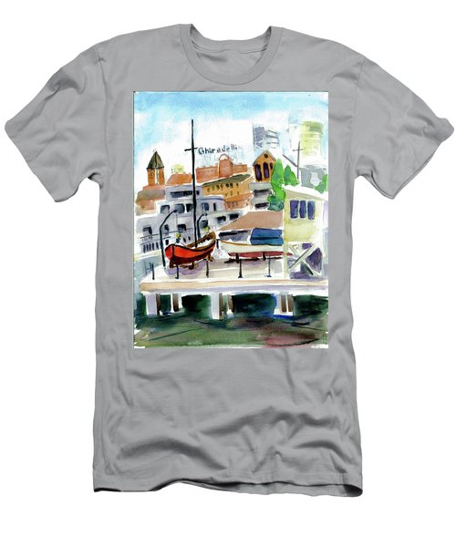 Aquatic Park1 Men's T-Shirt (Athletic Fit)