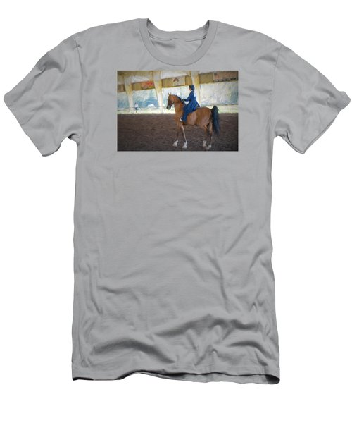 Arabian Dressage Men's T-Shirt (Athletic Fit)