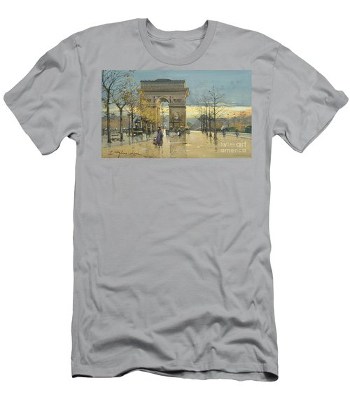 Arc De Triomphe Men's T-Shirt (Athletic Fit)