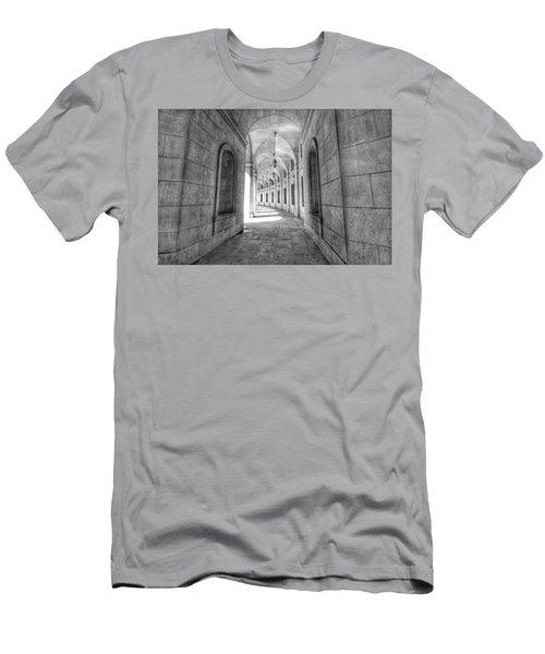 Arched Men's T-Shirt (Athletic Fit)