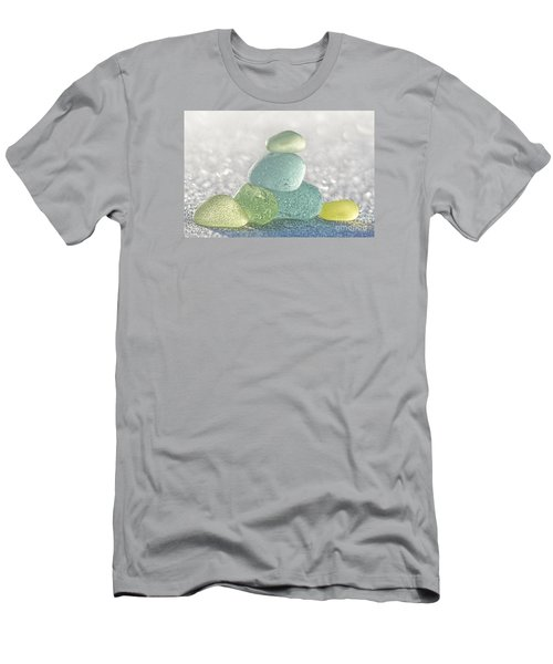 Arctic Spring Sea Glass Men's T-Shirt (Athletic Fit)