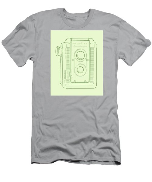 Argoflex Green Men's T-Shirt (Slim Fit) by Christina Lihani