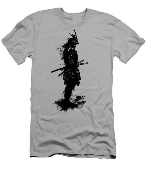 Men's T-Shirt (Slim Fit) featuring the mixed media Armored Samurai by Nicklas Gustafsson