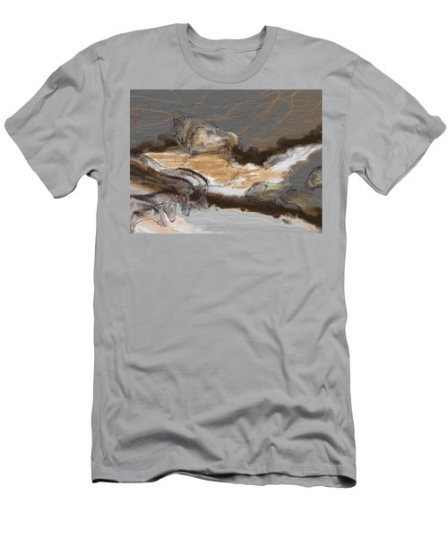 Art Rupestre Men's T-Shirt (Slim Fit)