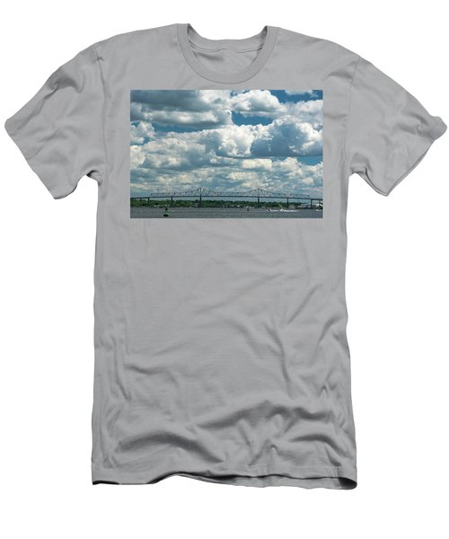 Arthur Kill And Outerbridge Crossing Men's T-Shirt (Athletic Fit)