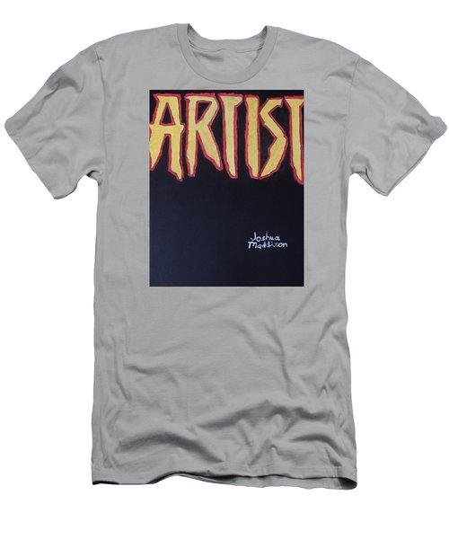 Artist 2009 Movie Men's T-Shirt (Slim Fit) by Joshua Maddison