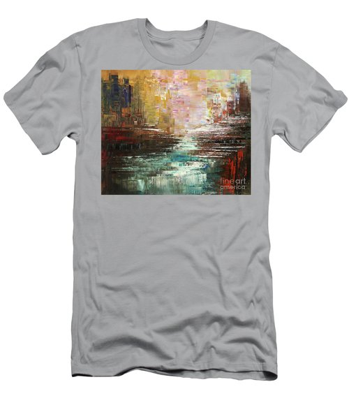 Artist Whitewater Men's T-Shirt (Athletic Fit)