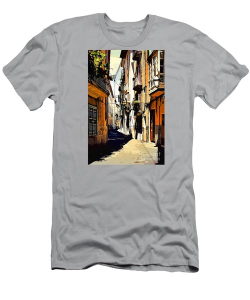 Artwork Palma De Mallorca Spain Men's T-Shirt (Athletic Fit)