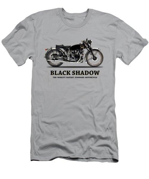 Vincent Black Shadow Men's T-Shirt (Athletic Fit)