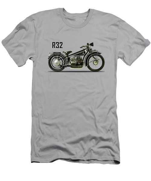 The R32 Motorcycle Men's T-Shirt (Athletic Fit)