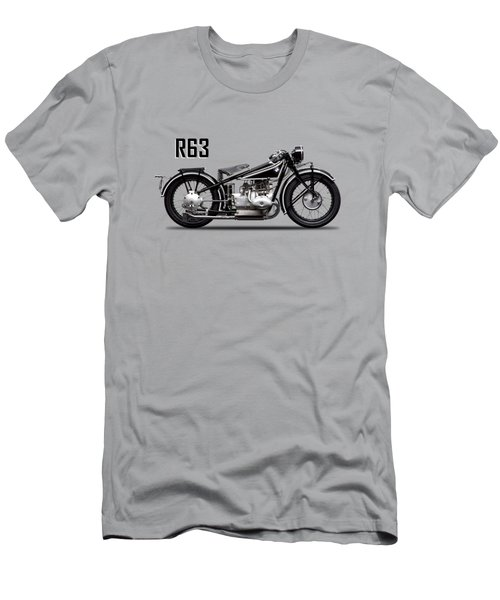 The R63 Motorcycle Men's T-Shirt (Athletic Fit)