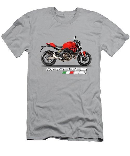 Ducati Monster 821 Men's T-Shirt (Athletic Fit)