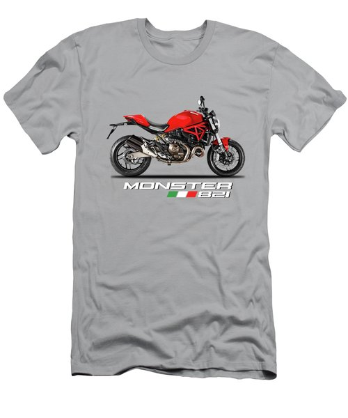 Ducati Monster 821 Men's T-Shirt (Athletic Fit)