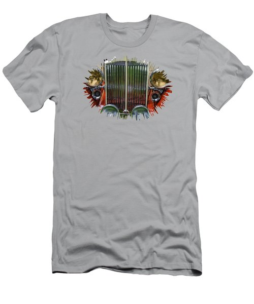 Men's T-Shirt (Slim Fit) featuring the photograph 1928 Classic Packard 443 Roadster by Thom Zehrfeld