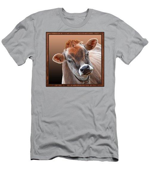 Hello Men's T-Shirt (Slim Fit) by Gill Billington