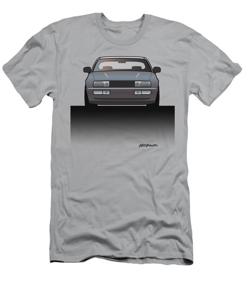 Modern Euro Icons Series Vw Corrado Vr6 Men's T-Shirt (Athletic Fit)