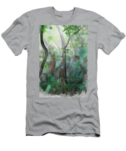 Jungle Men's T-Shirt (Slim Fit) by Ivana Westin