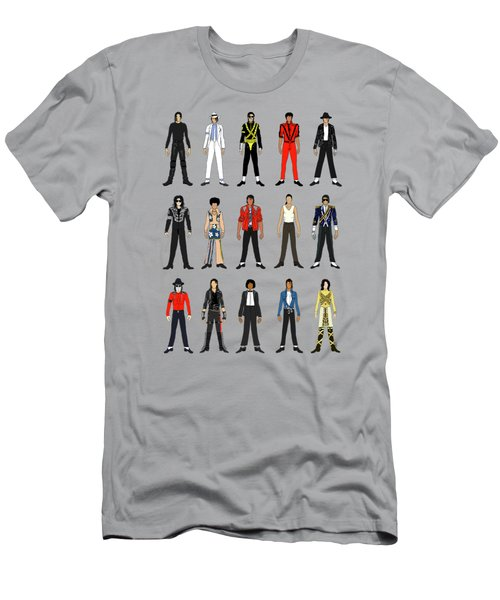 Outfits Of Michael Jackson Men's T-Shirt (Athletic Fit)