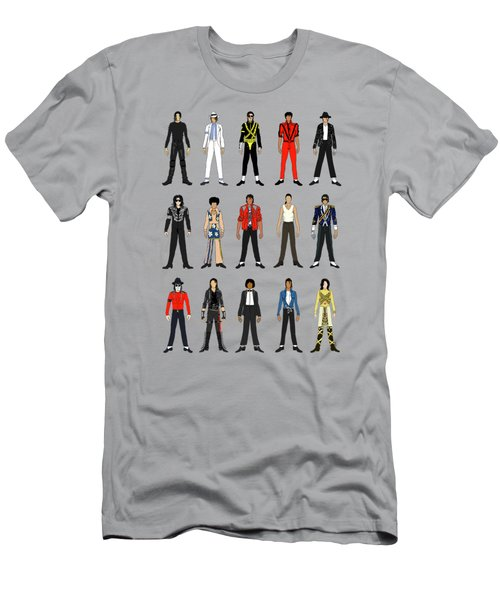 a98764abb309 Outfits Of Michael Jackson Men's T-Shirt (Athletic Fit)