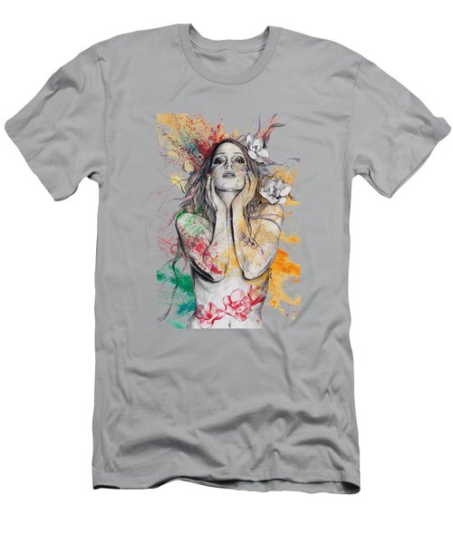 The Withering Spring Men's T-Shirt (Slim Fit) by Marco Paludet
