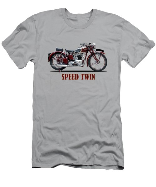 Speed Twin 1939 Men's T-Shirt (Athletic Fit)