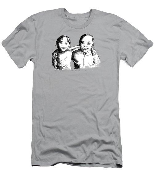 Great Friends Men's T-Shirt (Athletic Fit)