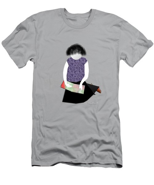 Her Picture Book Men's T-Shirt (Athletic Fit)