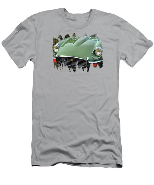 Mint Jaguar Men's T-Shirt (Athletic Fit)