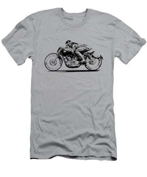 Faster Faster Men's T-Shirt (Athletic Fit)
