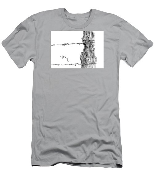 Post With Character Men's T-Shirt (Slim Fit) by Bill Kesler