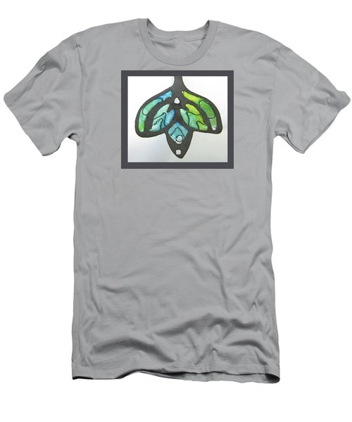1188 A La Tiffany Men's T-Shirt (Slim Fit) by Dianne Brooks