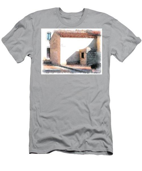 Arzachena Building Men's T-Shirt (Athletic Fit)