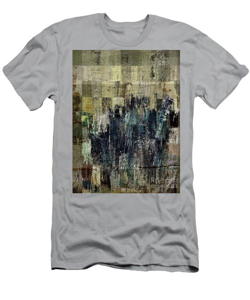 Men's T-Shirt (Slim Fit) featuring the painting Ascension - C03xt-159at2c by Variance Collections