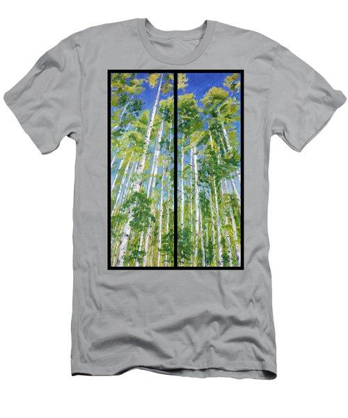 Aspen Twin Perspectives Men's T-Shirt (Athletic Fit)