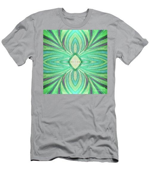 Aspirations Of Harmony Men's T-Shirt (Slim Fit) by Rachel Hannah