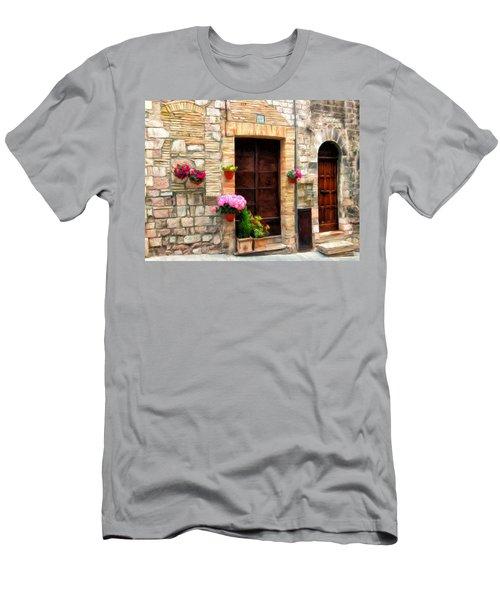 Assisi Doorways Men's T-Shirt (Athletic Fit)