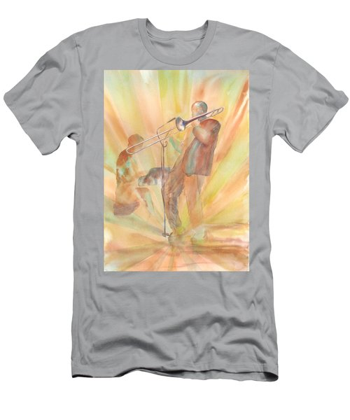 At One With The Music Men's T-Shirt (Athletic Fit)