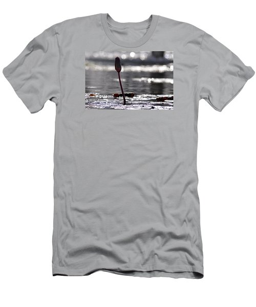 Men's T-Shirt (Slim Fit) featuring the photograph At Rabin Square, Tel Aviv by Dubi Roman